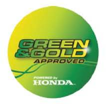 Honda Green & Gold Tested & Approved