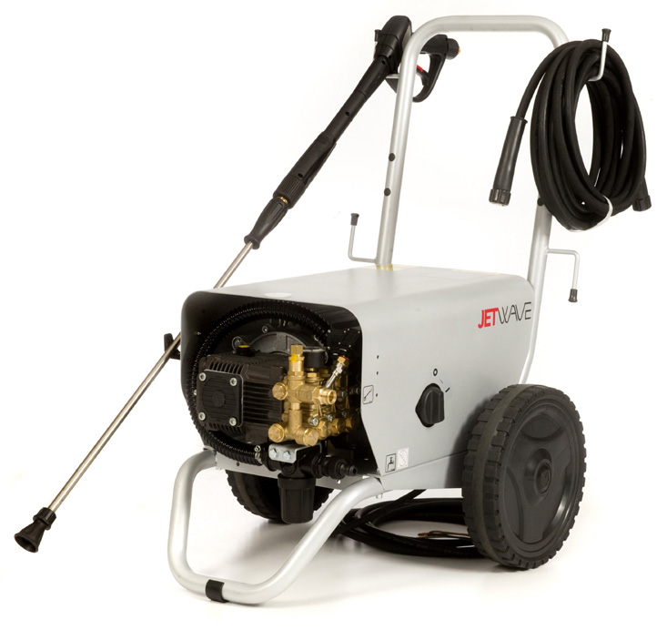 Jetwave Falcon 200-17 cold water electric pressure washer front view