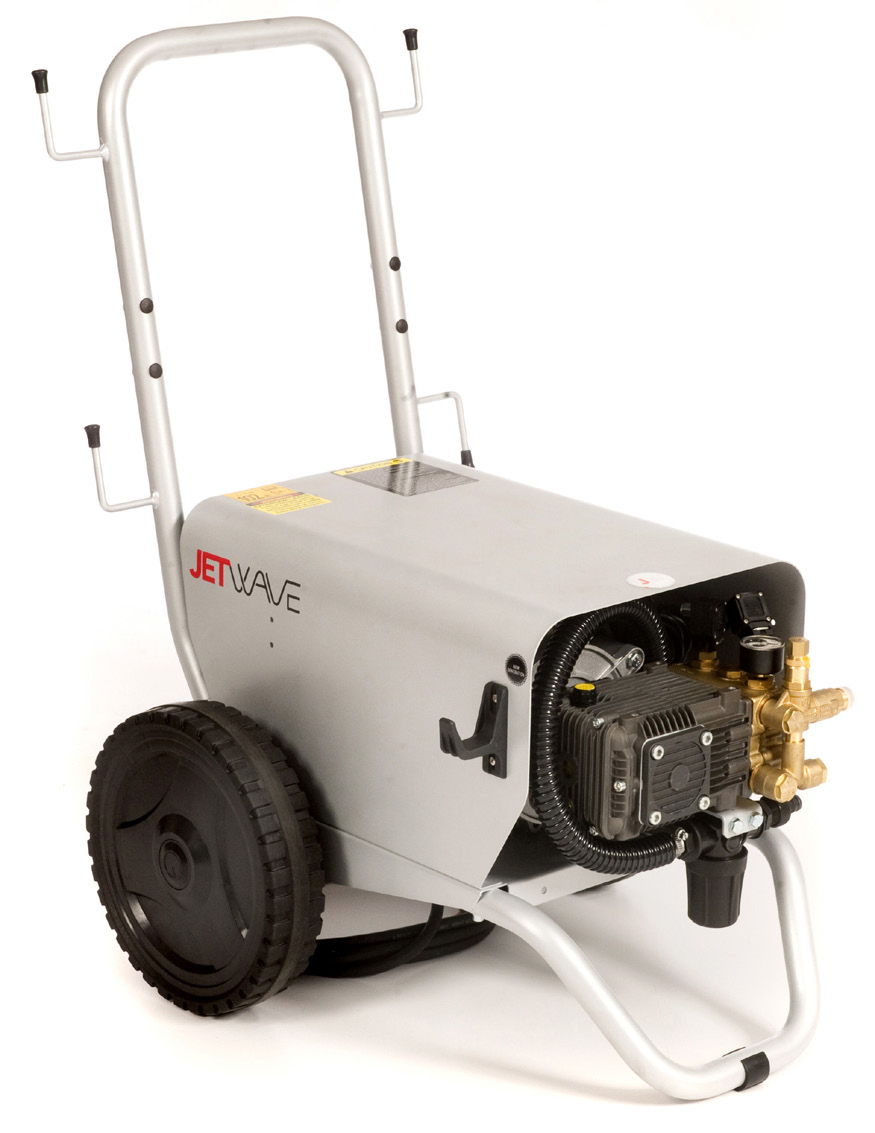 Jetwave Falcon 130 cold water electric pressure washer front view