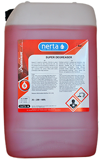 Nerta Super Degreaser Touchless Cleaning