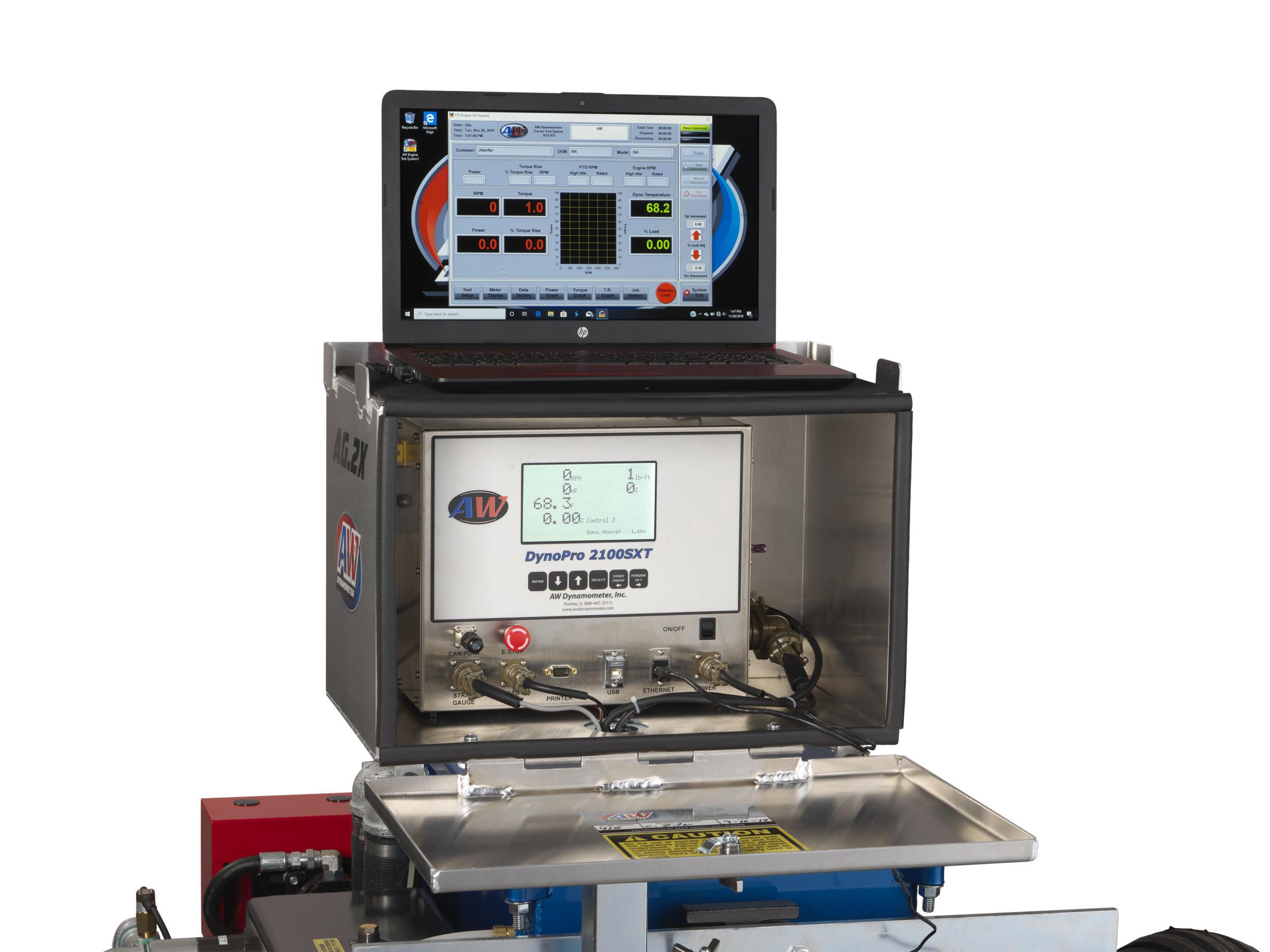 DynoPro 2100SXT Computer & Printer