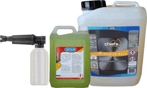 Bling Truck Kit Standard Touchless Cleaning Chemicals